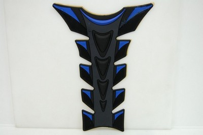 TANK PAD black/blue