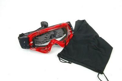 27e710452b89 goggles ENDURO JUNIOR, LEOSHI, red