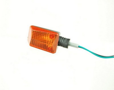 turn signal lamp MINI, clear, yellow, long