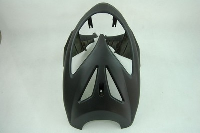 cover, headlamp front, mat black Keeway Focus, F-act