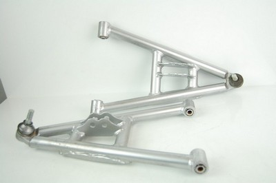 swing arm set, front lower right+left ATV200 silver