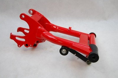 swing arm complete ATV 150 AUT. red