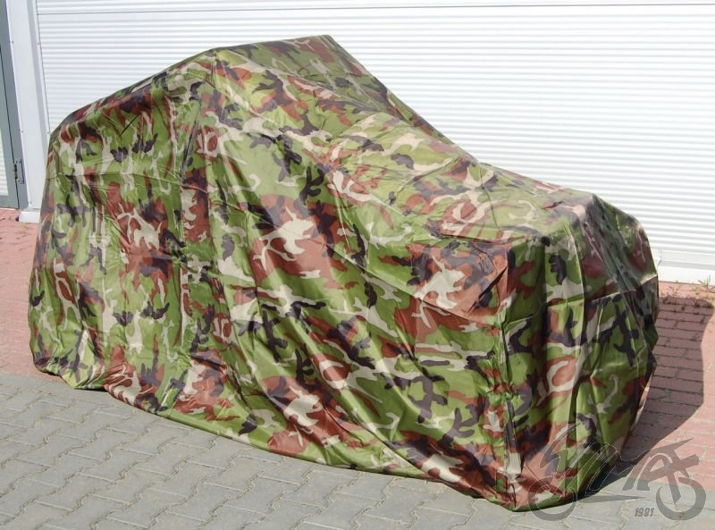 Quad ATV motorcycle cover outdoor garage external military pattern 256x150x150