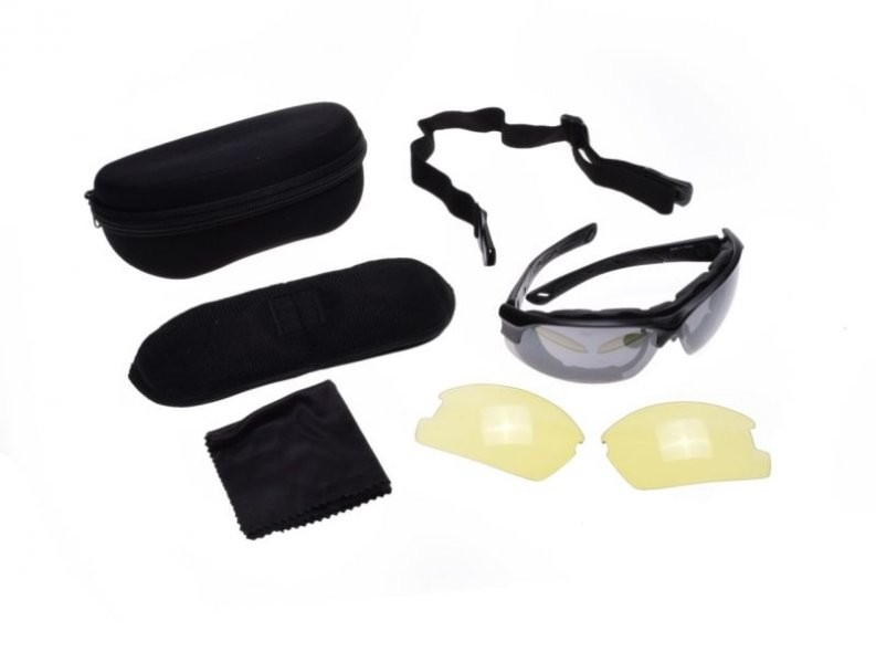 a733c873d9ec sunglasses sport 2x lens, amber + dark smoke